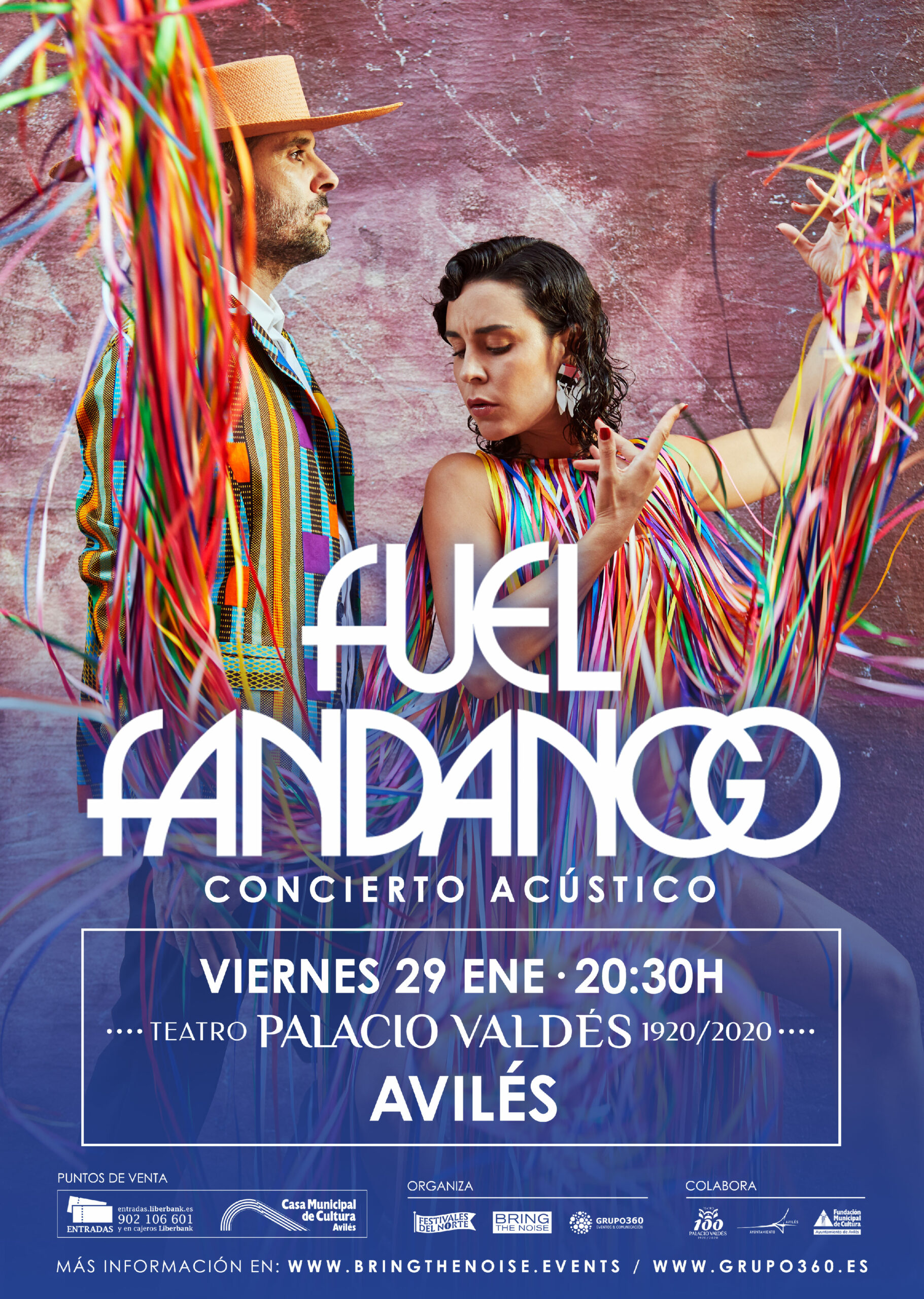 Fuel Fandango en el Teatro Palacio Valdés de Avilés