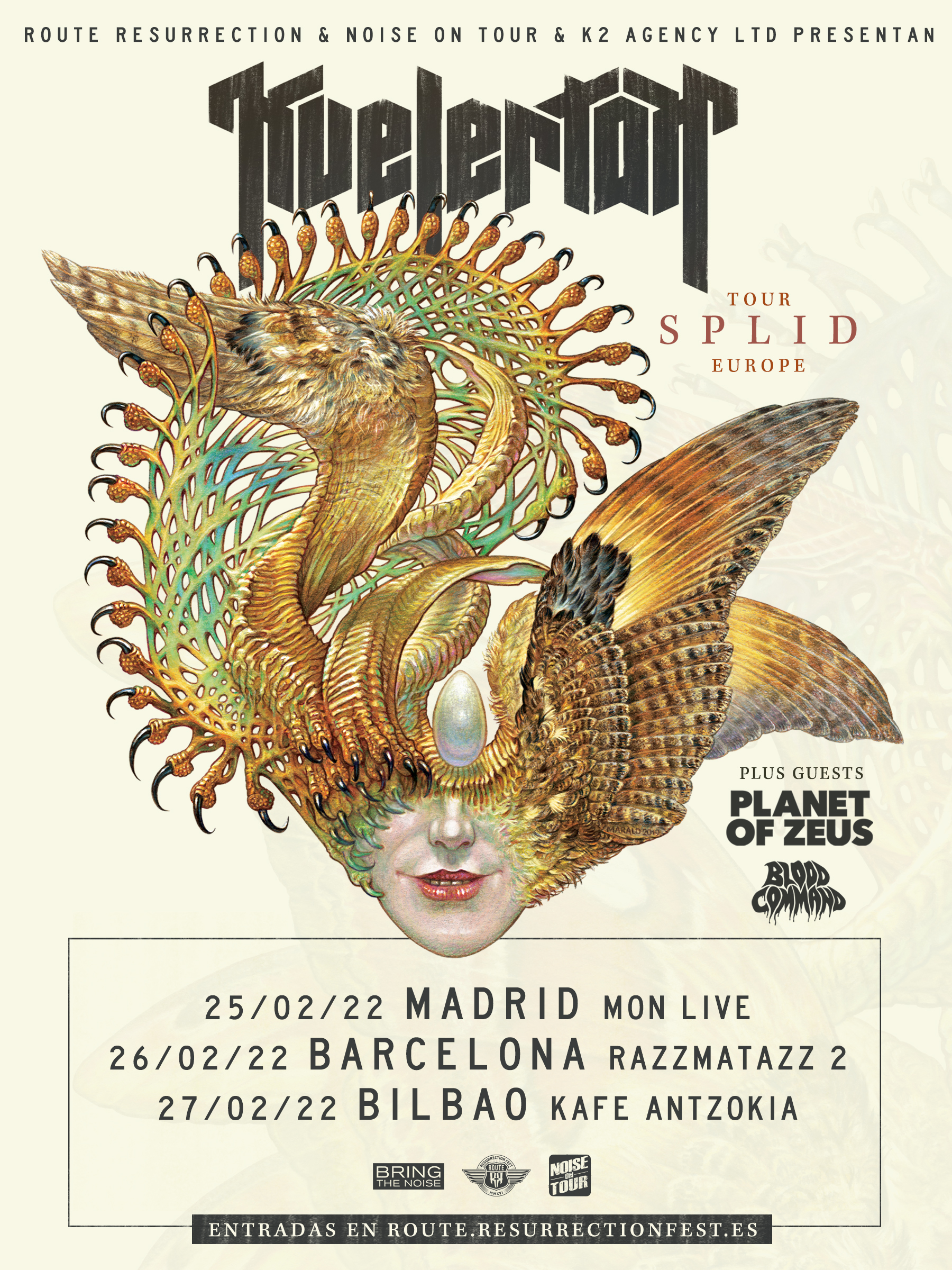 Route Resurrection 2022: Kvelertak (Barcelona)