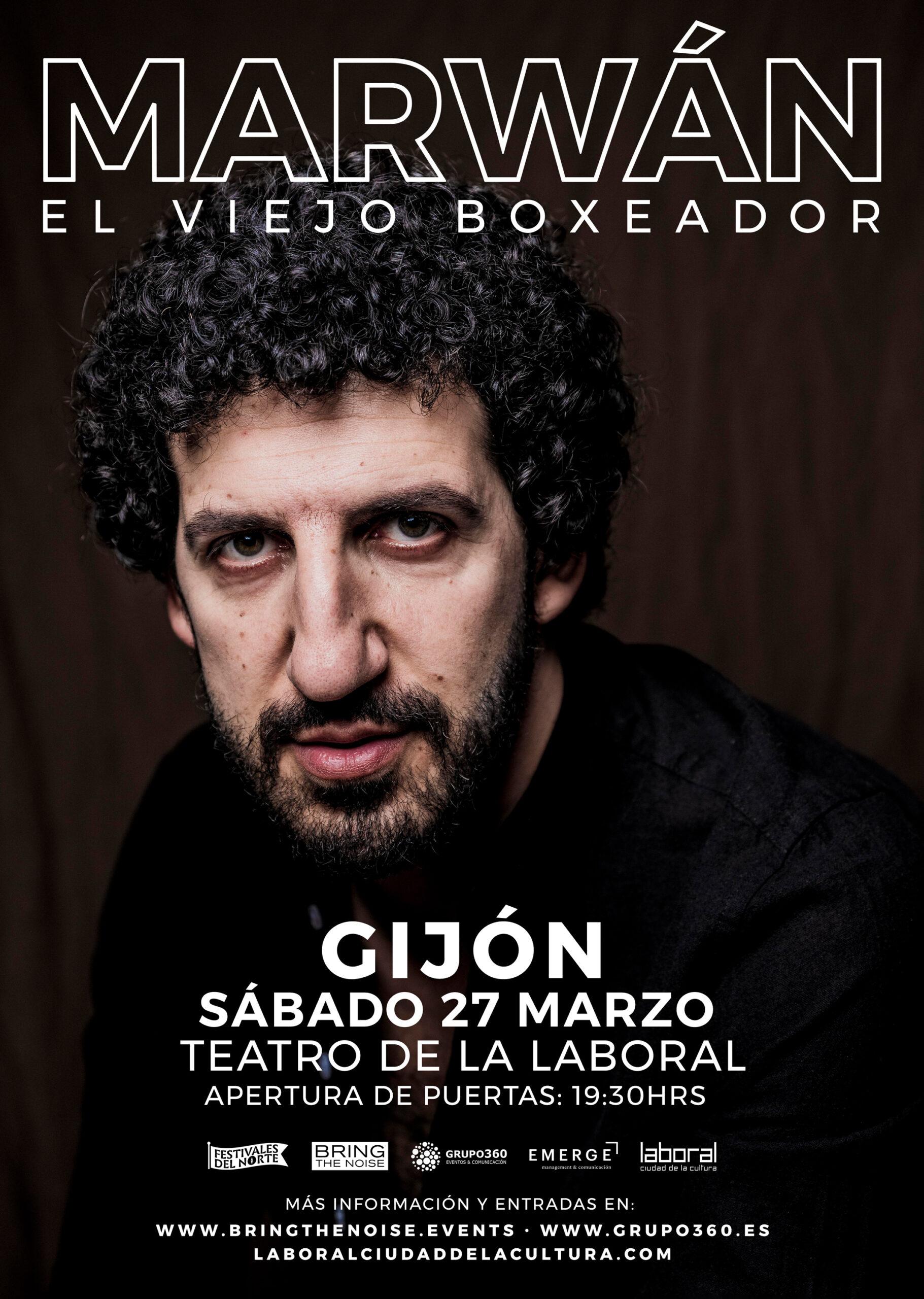 Marwán en el Teatro de la Laboral de Gijón