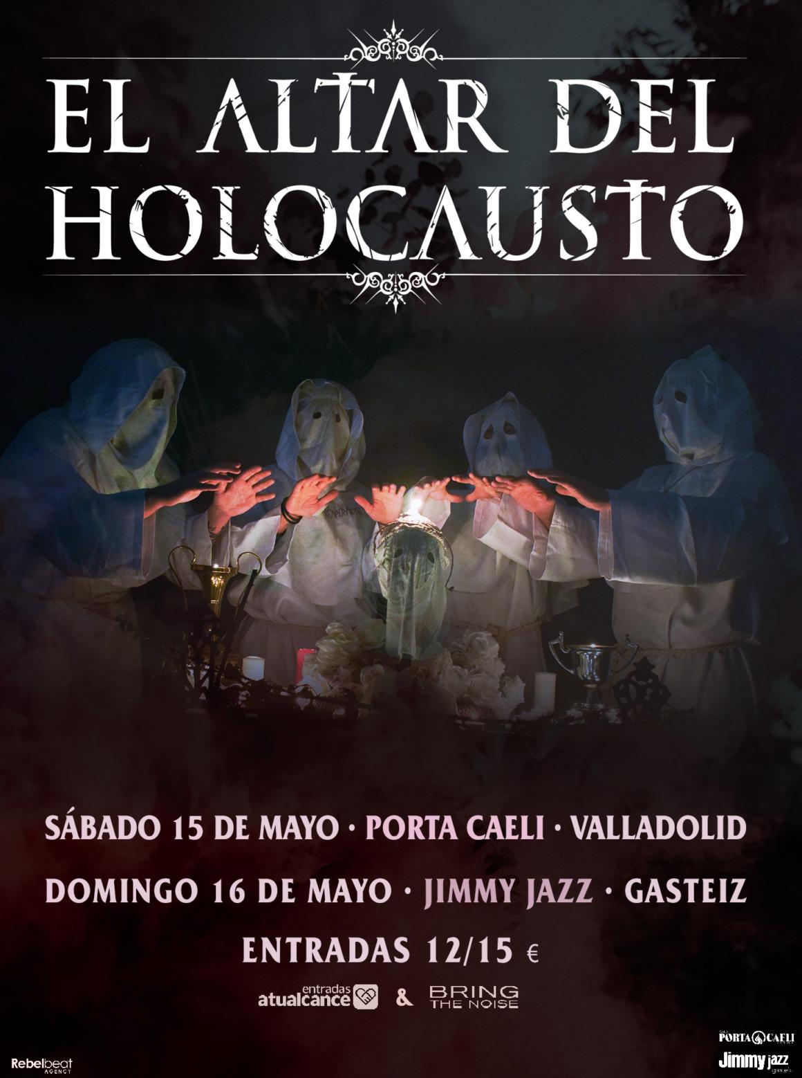 El Altar del Holocausto actuará en Valladolid y Vitoria en mayo