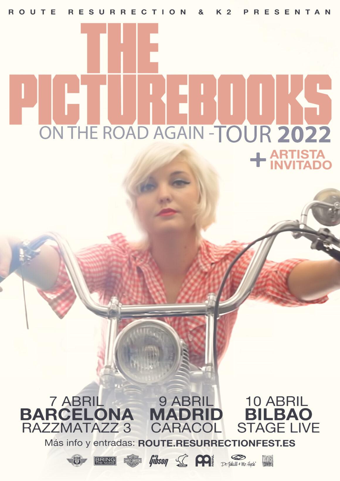 Nueva gira Route Resurrection: The Picturebooks vuelven a España