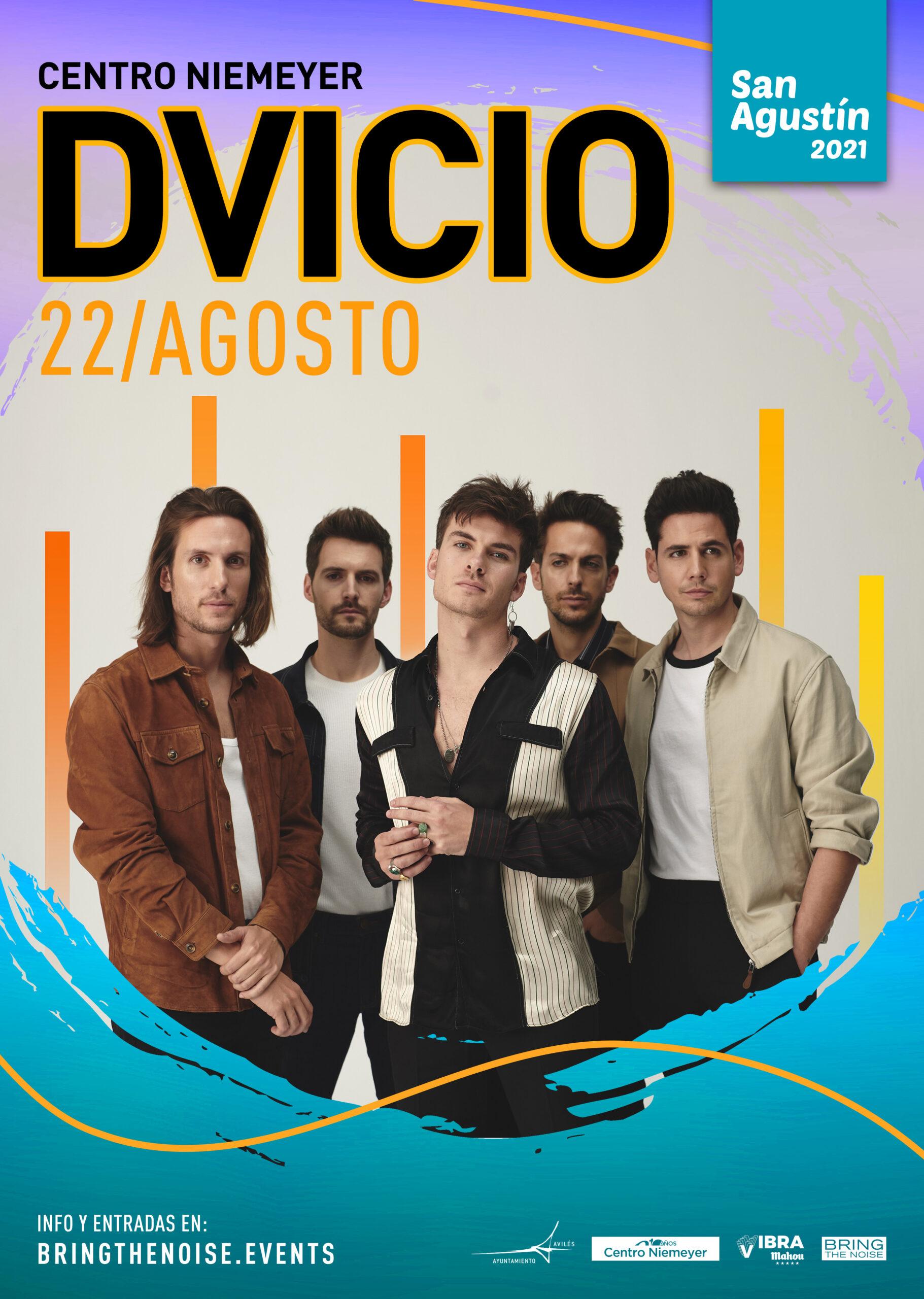 Dvicio actuarán el 22 de agosto de este año en Avilés en el Centro Niemeyer