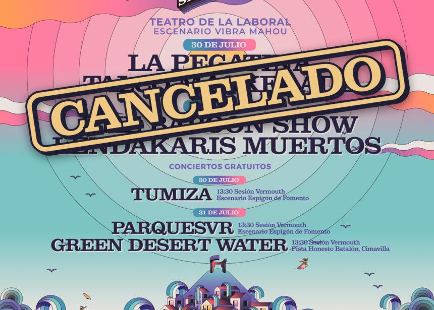 Cancelados los conciertos del Teatro de Laboral de este fin de semana del Tsunami Xixón Limited 2021