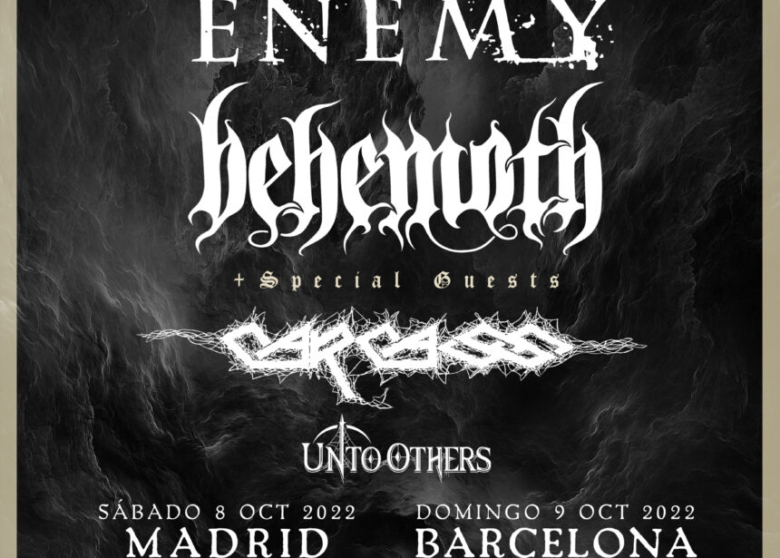 La gira de Arch Enemy y Behemoth con Carcass se mueve al 2022