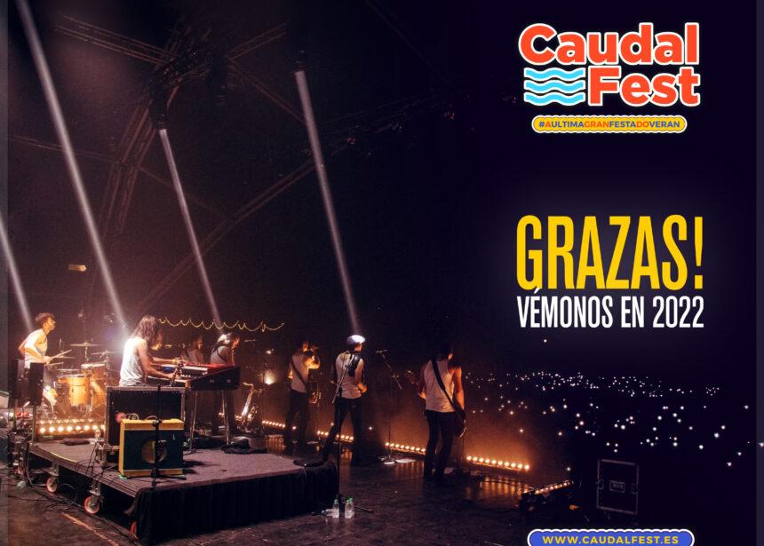 Grazas por vir ao Caudal Fest 2021 no Concello de Lugo!