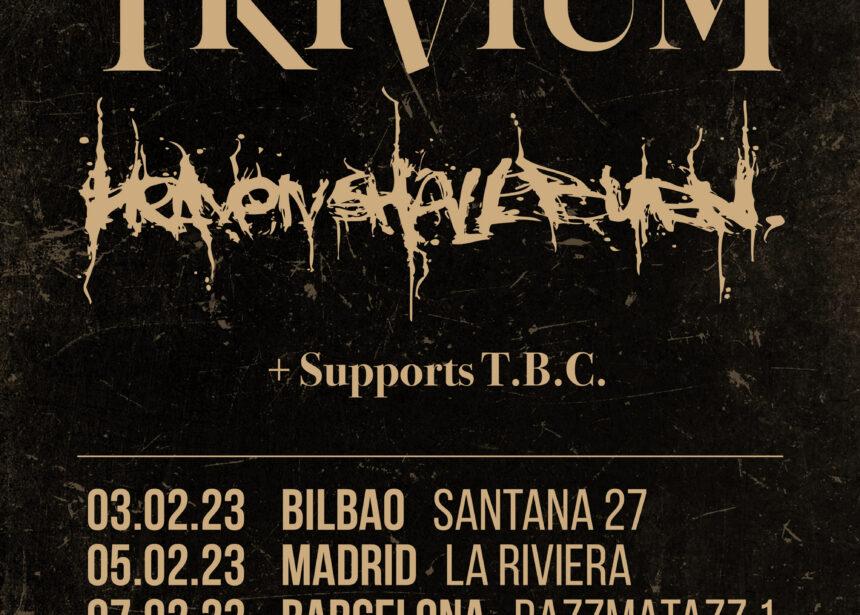 Nuevas fechas para la gira Route Resurrection de Trivium y Heaven Shall Burn