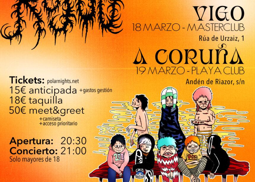 Rojuu anuncia conciertos en Galicia en 2022