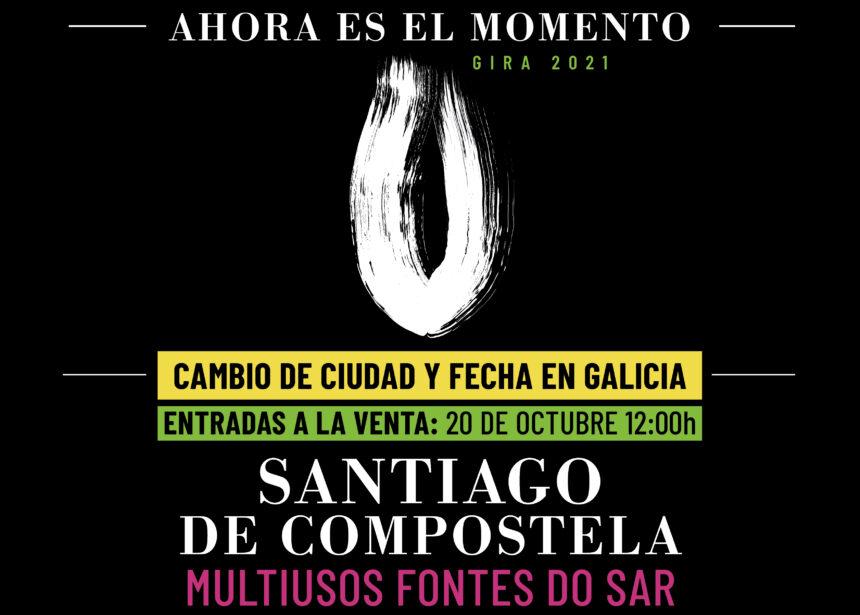 El 31 de octubre en Santiago de Compostela tendrá lugar el único concierto de Robe en Galicia; mañana 20 de octubre entradas a la venta